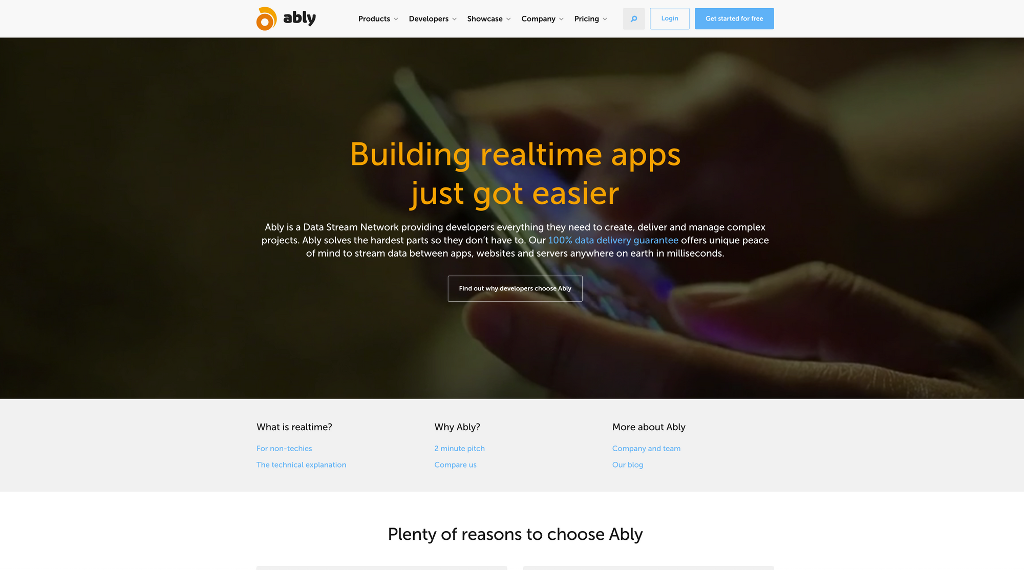 New Ably website: tutorials, examples, client libraries andmore